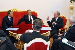 Reunión del Cuarteto en Moscú.